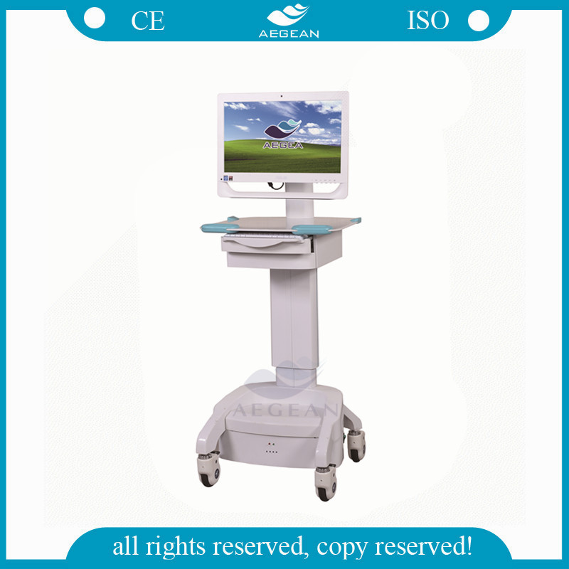 AG-WT002C Movable equip with computer medical cart
