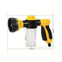 Cheap High Pressure Adjustable Car Washing Spray Gun Watering Plastic water mist spray nozzle