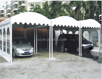 China Factory Aluminium Frame Arc Shaped Tents