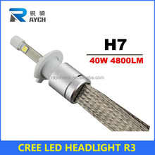 4800lm each lamp H/L most brightness car LED projectors headlight H4 H7 H8 H11 H13 all available