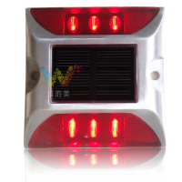 Alibaba wholesale driveway road stud red led flashing solar road marker light
