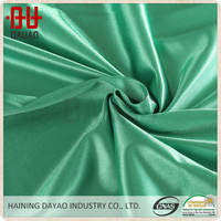 Quick dry polyester rayon charmeuse fabric for sportswear