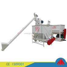 CE approved new automatic animal small horizontal feed mixer and grinder
