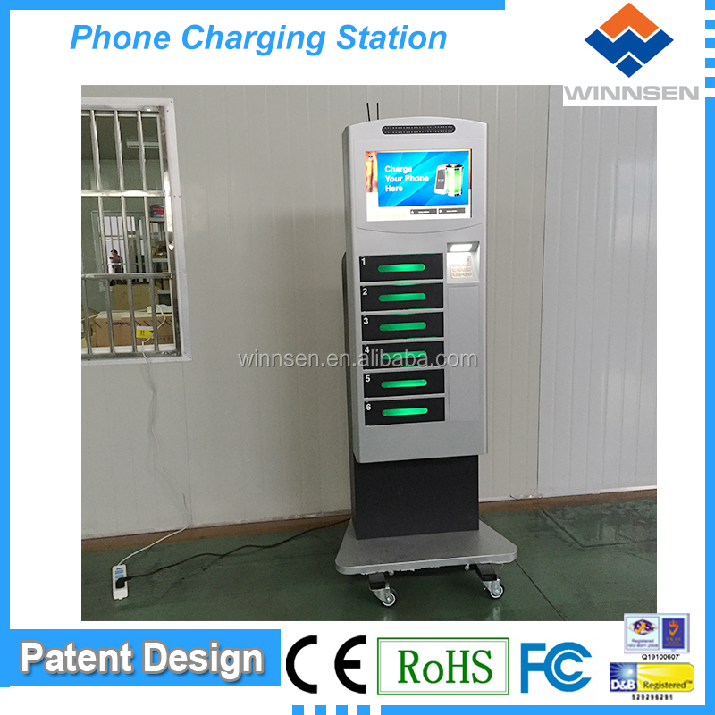 Wifi selling Mobile Phone Charging Unit APC-06B