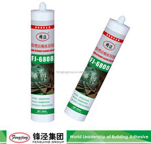 High strength 240ml silver adhesive silicone sealant with fast delivery