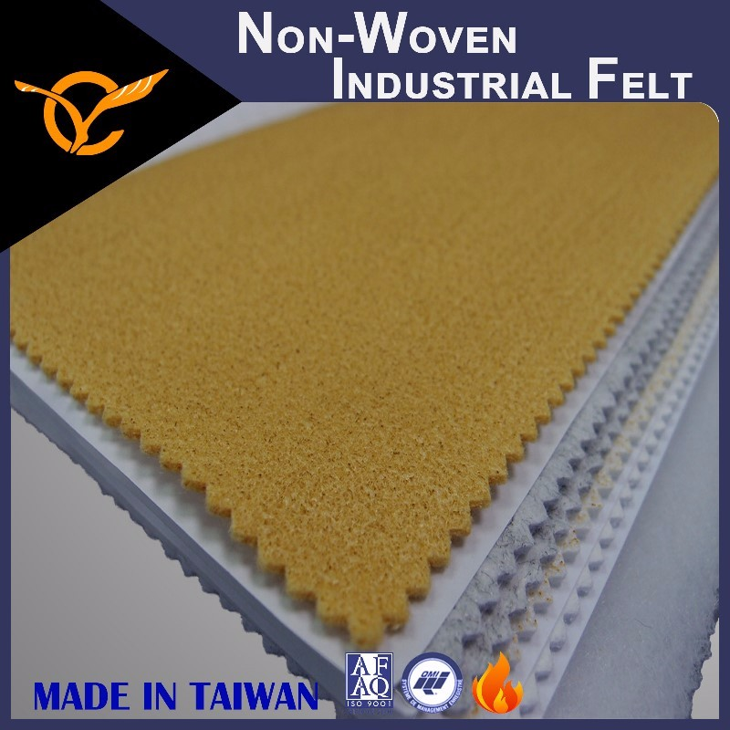 Fire Resistant Wool Non-Woven Industrial Felt