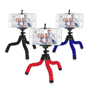Phone Self-timer Triangular Bracket Mini Cell Phone Camera Stand Holder Mobile Mount Tripod