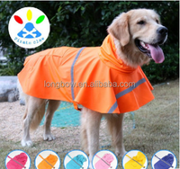 wholesale waterproof pet raincoats for small medium large dogs
