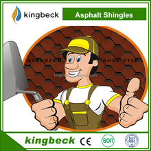 Roofing Materials good Quality asphalt roofing single layer asphalt shingles