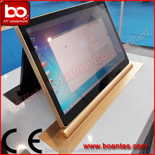 "18.5"" Pop Up LCD Monitor Lift with Retractable Monitor for Conference"