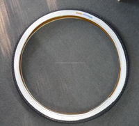 White Wall Colored Bicycle Tires 20 Inch,Golden Boy Pink Bicycle Tires 16x1.95 26x1.95 54-559
