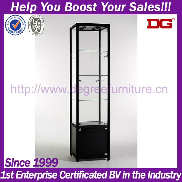 fashion perspex eyewear display cabinet with LED light