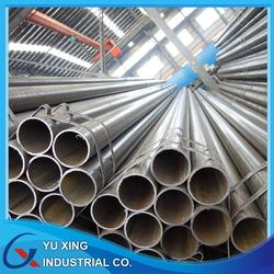 ERW BLACK STEEL PIPE ASTM A53 GB/T 3091 construction material