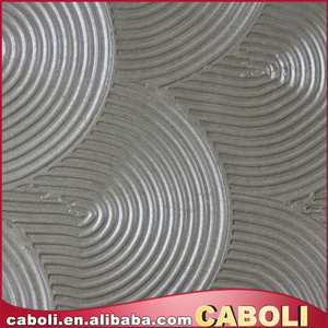 Caboli decorative wall covering nature fiber wall covering soundproof wall coating