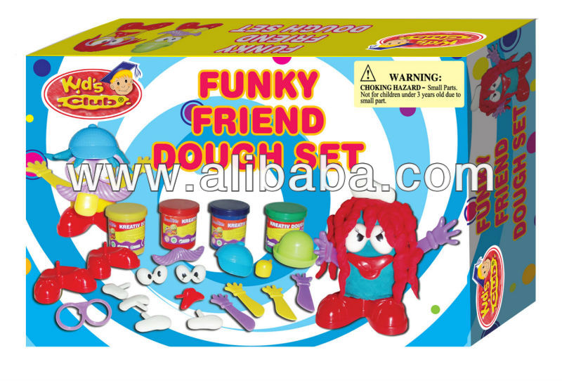 Play Dough Funky Friend Dough Set