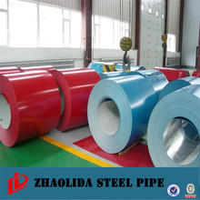 high quality steel ! colour coated galvanised sheet ppgi coil /prepainted galvanized steel coil