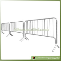 Hot dipped galvanized super quality Korean market use metal event barrier