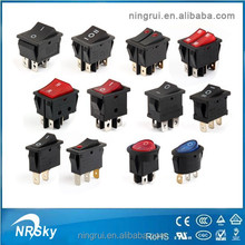 250v 16a waterproof electrical illuminated t125 rocker switch t85