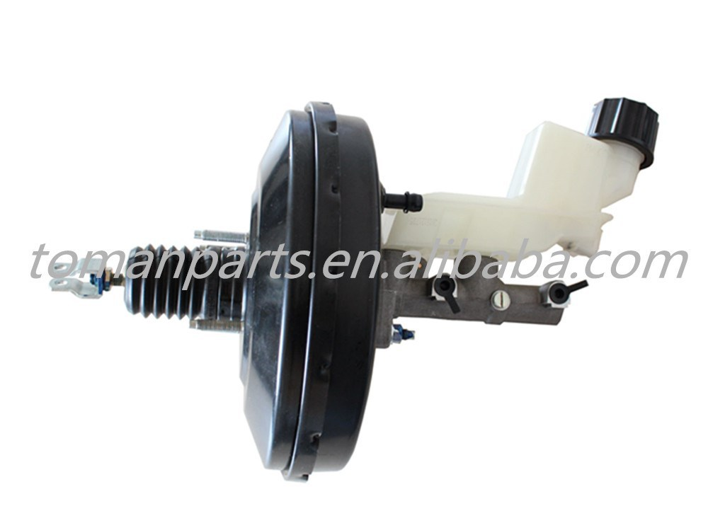 China supplier Auto parts vacuum booster with brake master cylinder assy for Mazda GJ6A43800