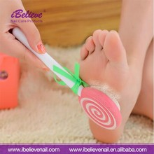 Good Quality Cute Lollipop Style Pedicure Foot Callus Remover File with Pumice