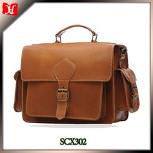 2017 fashion design hard handle and shoulder bag genuine leather camera bag