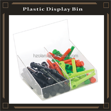 plastic display bins