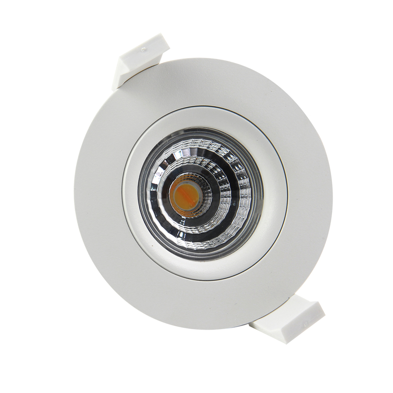 Lepu hot Nordic design 83mm Cutout dim warm 2000k to 2800k Nemko led downlight