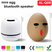 2016 best selling mini ball hsape portable bluetooth speaker with TFcard