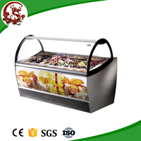 LONGSHENGXI 2015 new products commercial luxury freezer for ice cream used