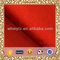 100% wool fabric wholesale bright color cut velvet wool fabric for fall winter fashion