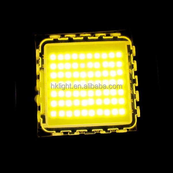 High performance 70w warm white high power high lumens led lamp chip
