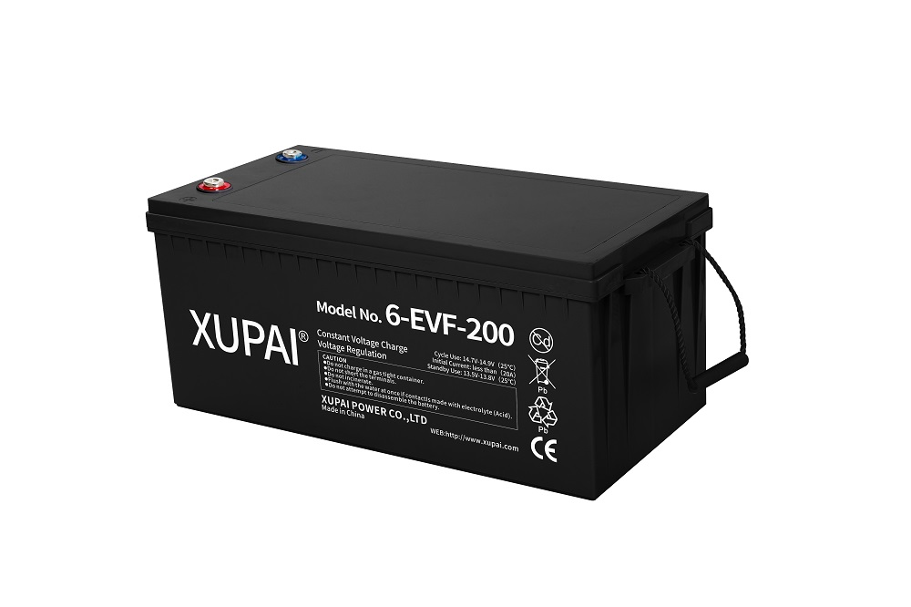 Sealed Lead Acid Battery 6-EVF-200 Battery 12V 200AH Batteries 522*240*220mm for Electric Vehicle