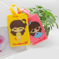Customized Luggage Tag 3d Rubber Luggage