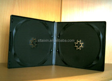 black double/single half size 10mm dvd storage cases