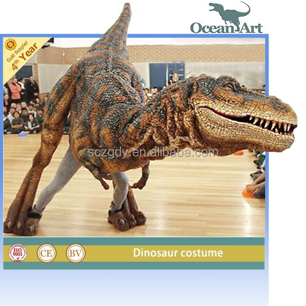 High quality simulation artificial dinosaur costumes