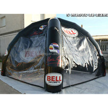 Cusotmized logo inflatable advertising dome tent to UK K5109
