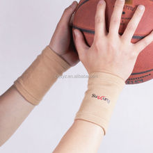 colorful Elastic knitting soft Wrist Support Forearm Support Wholesale sports fitness wrist wraps