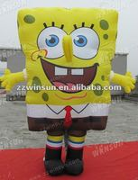 Popular Cute spongebob mascot