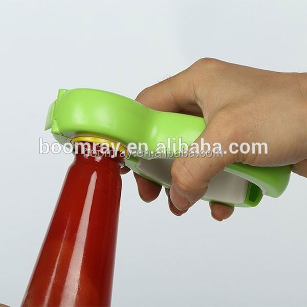 China top supplier high quality 6 in 1 functions ABS metal paint can opener