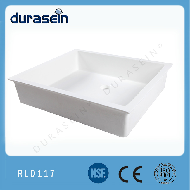 resin countertop sink regular solid surface kitchen sink red sink