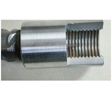 High Precision 40# Carbon Steel Splicing Sleeve/ Rebar Coupler