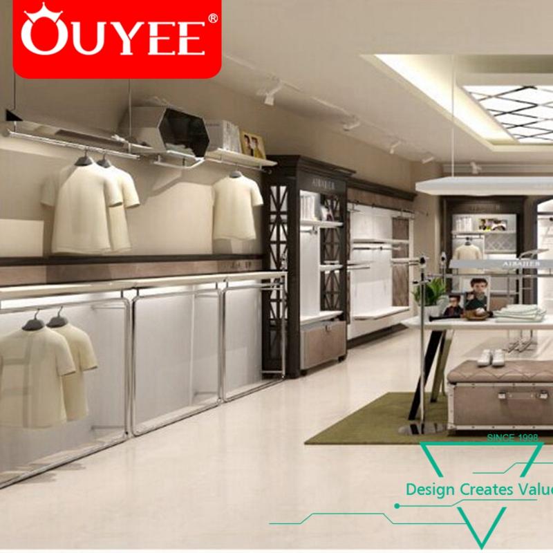 ouyee fashion menswear shop furniture retail cloth shop interior rh alibaba com cloth shops interior design cloth shop counter design