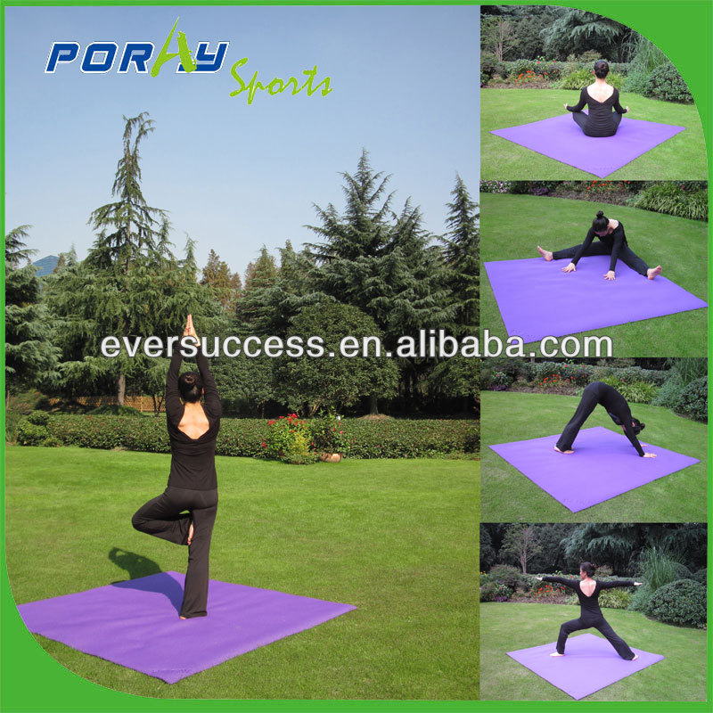 6ft square yoga mat giant sport yoga mat