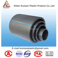 solid wall pe100 hdpe sewer pipe