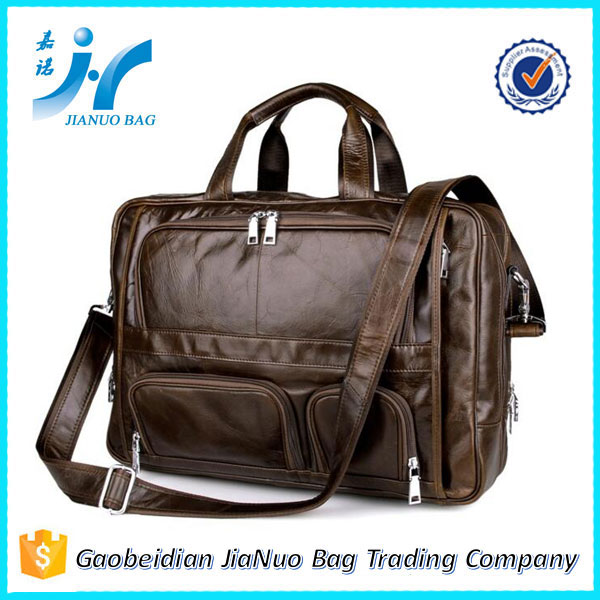 Rolling briefcase men lawyer leather briefcase leather bags briefcase