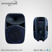 Perfect Sound Bluetooth Speaker with LCD Screen Live Sound Subwoofer Guitar Speaker Outdoor Sound System Professional