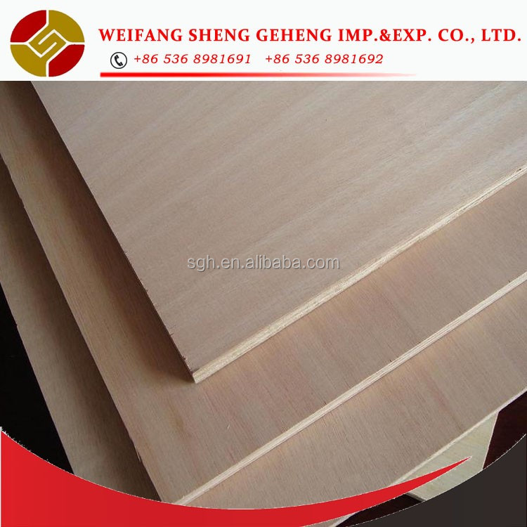 Bintangor/Okoume/Pine/Birch/Ash/Walnut/Oak/Teak Plywood sheet with competitve prices