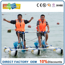 Sea Sports Propeller Water Bikes PVC inflatable Pedal Boats Hydro Bikes waterbird water bike