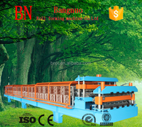Roof Sheet and Deck Floor Double Layer Roll Forming Machine