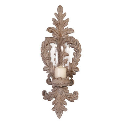 Decorative candle resin wall sconces wholesale